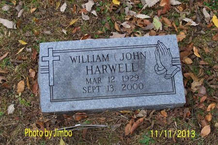 """HARWELL, WILLIAM """"JOHN"""" - Lincoln County, Tennessee 