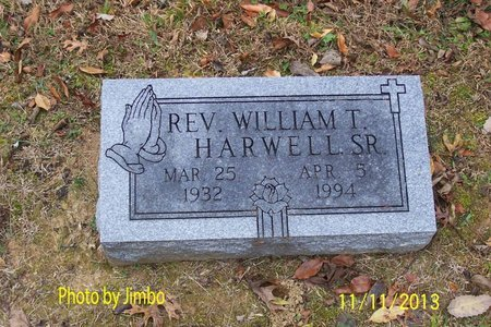 HARWELL, WILLIAM T., REV. - Lincoln County, Tennessee | WILLIAM T., REV. HARWELL - Tennessee Gravestone Photos