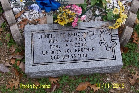 HEDGSPETH, JIMMIE LEE - Lincoln County, Tennessee | JIMMIE LEE HEDGSPETH - Tennessee Gravestone Photos
