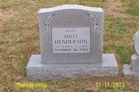 HENDERSON, ADELL - Lincoln County, Tennessee | ADELL HENDERSON - Tennessee Gravestone Photos