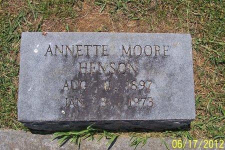 HENSON, ANNETTE - Lincoln County, Tennessee | ANNETTE HENSON - Tennessee Gravestone Photos
