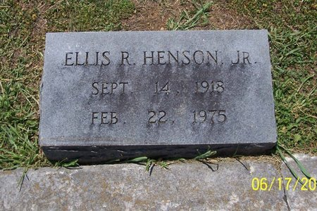 HENSON, JR., ELLIS R. - Lincoln County, Tennessee   ELLIS R. HENSON, JR. - Tennessee Gravestone Photos