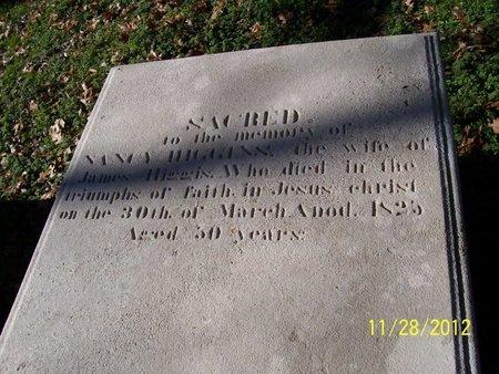 HIGGINS, NANCY - Lincoln County, Tennessee | NANCY HIGGINS - Tennessee Gravestone Photos