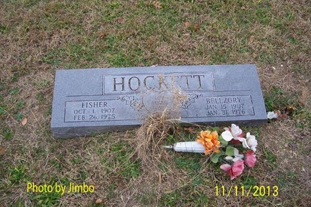 HOCKETT, BELLZORY - Lincoln County, Tennessee | BELLZORY HOCKETT - Tennessee Gravestone Photos