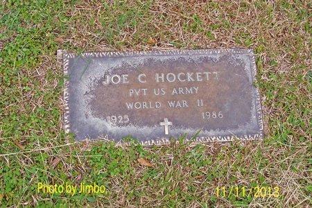 HOCKETT (VETERAN WWII), JOE C - Lincoln County, Tennessee | JOE C HOCKETT (VETERAN WWII) - Tennessee Gravestone Photos