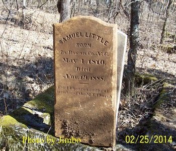 LITTLE, SAMUEL - Lincoln County, Tennessee | SAMUEL LITTLE - Tennessee Gravestone Photos