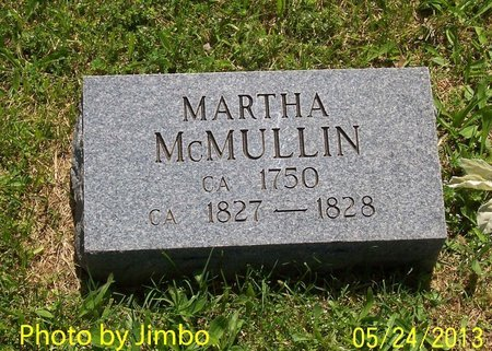 MCMULLIN, MARTHA (ORIGINAL STONE) - Lincoln County, Tennessee | MARTHA (ORIGINAL STONE) MCMULLIN - Tennessee Gravestone Photos