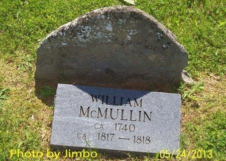 MCMULLIN, WILLIAM (ORIGINAL STONE) - Lincoln County, Tennessee | WILLIAM (ORIGINAL STONE) MCMULLIN - Tennessee Gravestone Photos