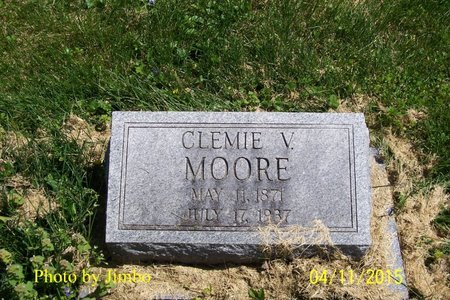MOORE, CLEMIE V. - Lincoln County, Tennessee   CLEMIE V. MOORE - Tennessee Gravestone Photos