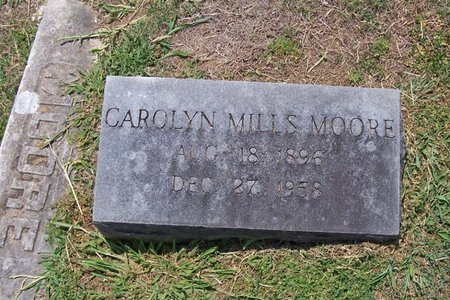 MILLS MOORE, CAROLYN - Lincoln County, Tennessee | CAROLYN MILLS MOORE - Tennessee Gravestone Photos