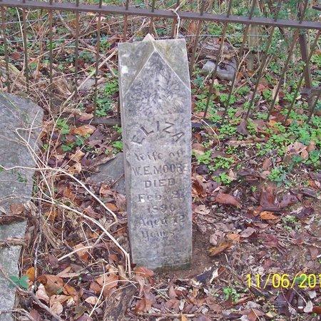 MOORE, ELIZA - Lincoln County, Tennessee   ELIZA MOORE - Tennessee Gravestone Photos