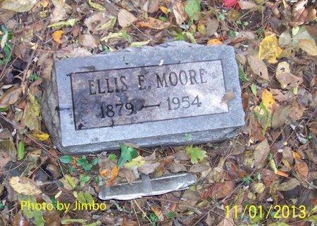 MOORE, ELLIS E. - Lincoln County, Tennessee   ELLIS E. MOORE - Tennessee Gravestone Photos