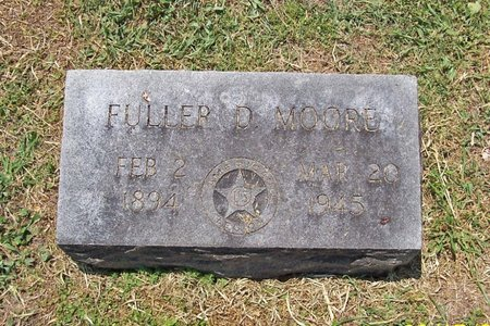 MOORE, FULLER D. - Lincoln County, Tennessee | FULLER D. MOORE - Tennessee Gravestone Photos