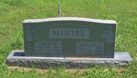 MOORE, GARLAND L. - Lincoln County, Tennessee | GARLAND L. MOORE - Tennessee Gravestone Photos