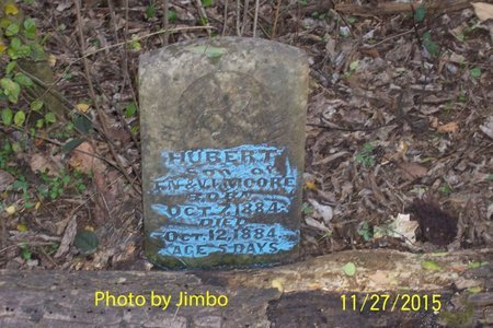 MOORE, HUBERT - Lincoln County, Tennessee | HUBERT MOORE - Tennessee Gravestone Photos