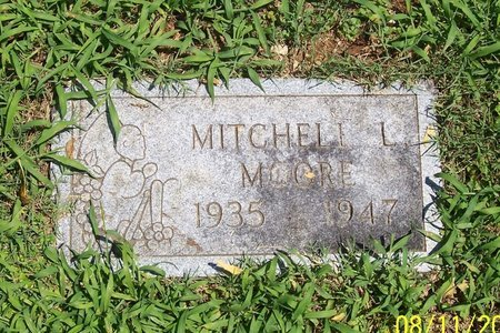 MOORE, MITCHELL L. - Lincoln County, Tennessee | MITCHELL L. MOORE - Tennessee Gravestone Photos