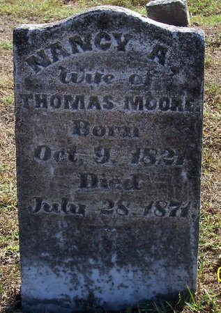 MOORE, NANCY A. - Lincoln County, Tennessee | NANCY A. MOORE - Tennessee Gravestone Photos