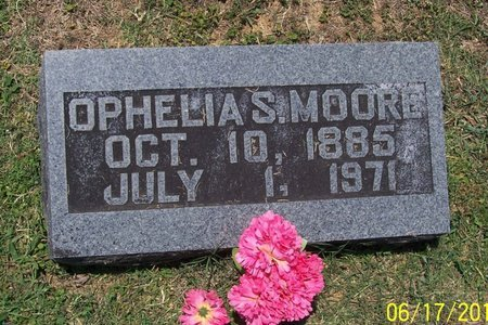 MOORE, OPHELIA S. - Lincoln County, Tennessee | OPHELIA S. MOORE - Tennessee Gravestone Photos