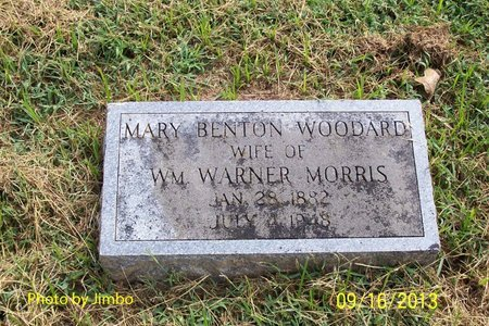 MORRIS, MARY BENTON - Lincoln County, Tennessee | MARY BENTON MORRIS - Tennessee Gravestone Photos