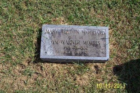 WOODARD MORRIS, MARY BENTON - Lincoln County, Tennessee | MARY BENTON WOODARD MORRIS - Tennessee Gravestone Photos
