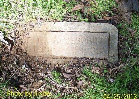 OSBORNE, WILLIAM JONES - Lincoln County, Tennessee   WILLIAM JONES OSBORNE - Tennessee Gravestone Photos