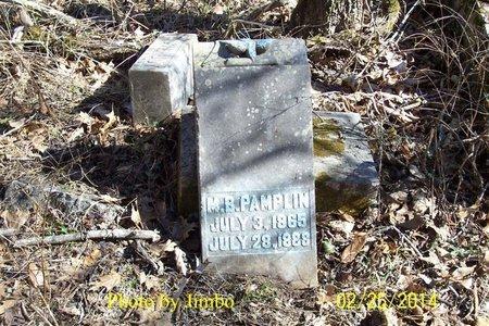 PAMPLIN, M. B. - Lincoln County, Tennessee | M. B. PAMPLIN - Tennessee Gravestone Photos
