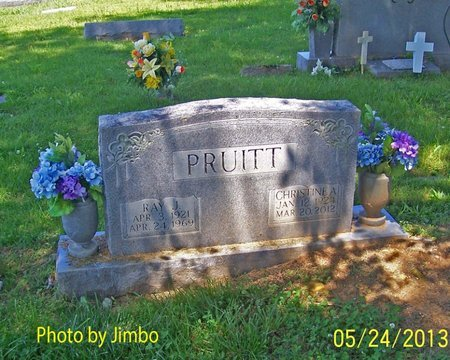 PRUITT, CHRISTINE A - Lincoln County, Tennessee | CHRISTINE A PRUITT - Tennessee Gravestone Photos