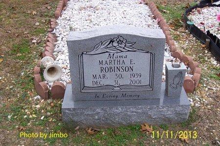 ROBINSON, MARTHA E. - Lincoln County, Tennessee | MARTHA E. ROBINSON - Tennessee Gravestone Photos