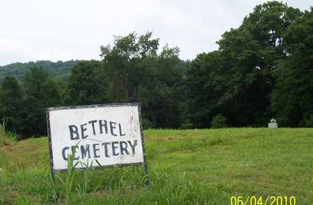 *BETHEL CEMETERY SIGN,  - Lincoln County, Tennessee    *BETHEL CEMETERY SIGN - Tennessee Gravestone Photos
