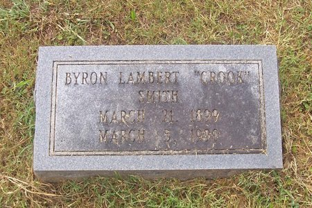 "SMITH, BYRON LAMBERT ""CROOK"" - Lincoln County, Tennessee   BYRON LAMBERT ""CROOK"" SMITH - Tennessee Gravestone Photos"