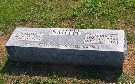 SMITH, CLAUDIA M. - Lincoln County, Tennessee | CLAUDIA M. SMITH - Tennessee Gravestone Photos
