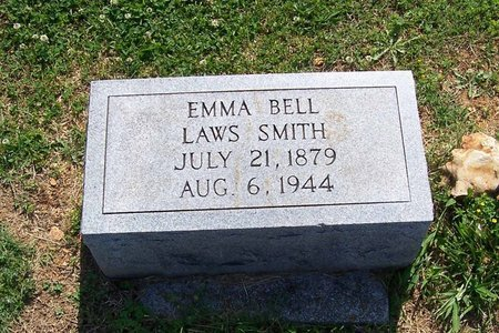 LAWS SMITH, EMMA BELL - Lincoln County, Tennessee | EMMA BELL LAWS SMITH - Tennessee Gravestone Photos