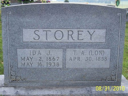 """STOREY, T. A. """"LON"""" - Lincoln County, Tennessee 