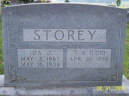 STOREY, IDA J. - Lincoln County, Tennessee | IDA J. STOREY - Tennessee Gravestone Photos
