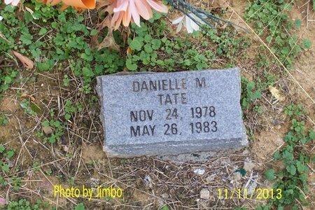 TATE, DANIELLE M. - Lincoln County, Tennessee | DANIELLE M. TATE - Tennessee Gravestone Photos