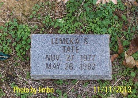 TATE, LAMEKA S. - Lincoln County, Tennessee | LAMEKA S. TATE - Tennessee Gravestone Photos