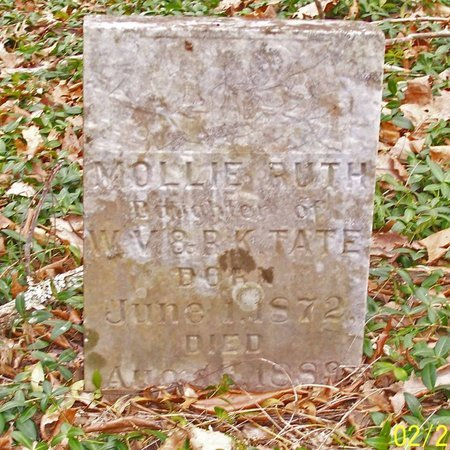 TATE, MOLLIE RUTH - Lincoln County, Tennessee | MOLLIE RUTH TATE - Tennessee Gravestone Photos