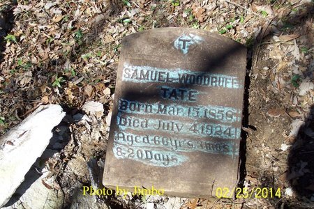 TATE, SAMUEL WOODRUFF - Lincoln County, Tennessee | SAMUEL WOODRUFF TATE - Tennessee Gravestone Photos