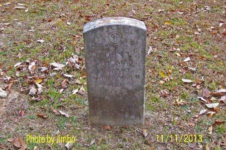 THOMAS (VETERAN WWII), JOHN L. - Lincoln County, Tennessee | JOHN L. THOMAS (VETERAN WWII) - Tennessee Gravestone Photos