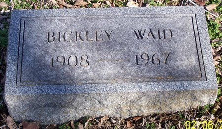 WAID, BICKLEY - Lincoln County, Tennessee | BICKLEY WAID - Tennessee Gravestone Photos