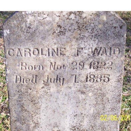 WAID, CAROLINE F. - Lincoln County, Tennessee | CAROLINE F. WAID - Tennessee Gravestone Photos