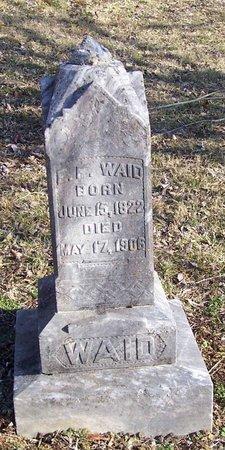 WAID, ELIJAH F. - Lincoln County, Tennessee | ELIJAH F. WAID - Tennessee Gravestone Photos
