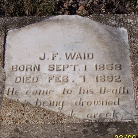 WAID, JAMES F. - Lincoln County, Tennessee | JAMES F. WAID - Tennessee Gravestone Photos
