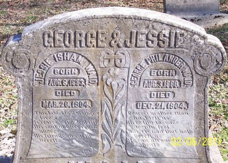 WAID, GEORGE PHILANDER - Lincoln County, Tennessee | GEORGE PHILANDER WAID - Tennessee Gravestone Photos