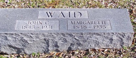 WAID, MARGARETTE - Lincoln County, Tennessee | MARGARETTE WAID - Tennessee Gravestone Photos
