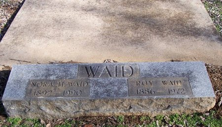 WAGSTER WAID, NORA H - Lincoln County, Tennessee | NORA H WAGSTER WAID - Tennessee Gravestone Photos
