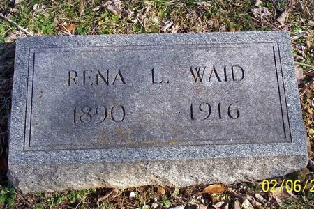 WAID, RENA - Lincoln County, Tennessee | RENA WAID - Tennessee Gravestone Photos