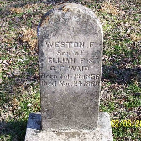 WAID, WESTON F. - Lincoln County, Tennessee | WESTON F. WAID - Tennessee Gravestone Photos
