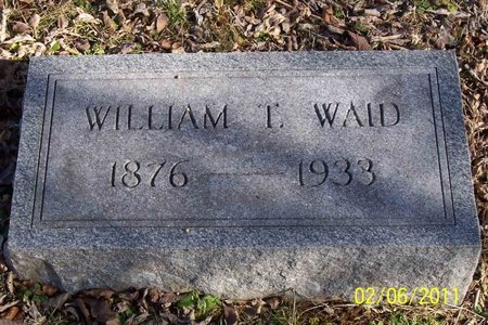 WAID, WILLIAM T. - Lincoln County, Tennessee | WILLIAM T. WAID - Tennessee Gravestone Photos
