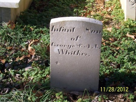 WHITAKER, INFANT - Lincoln County, Tennessee | INFANT WHITAKER - Tennessee Gravestone Photos
